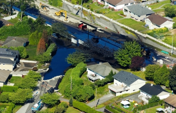 Kinder Morgan burnaby 2007 spill 1