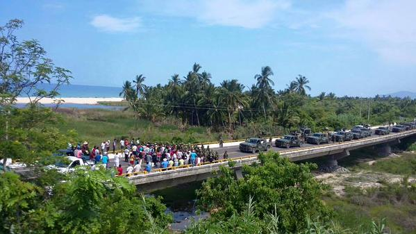 Mexico Ostula blockade