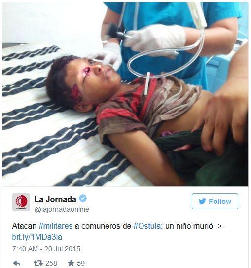 Mexico Ostula victim