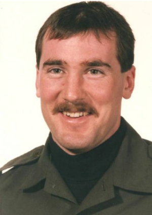 Corporal Marcel Lemay, shot and killed during the July 11, 1990 raid by Quebec provincial police.