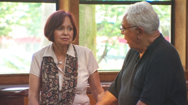 Joyce and Joe Fossella, a married couple who run Warriors Against Violence, once had an exceedingly abusive relationship of their own. (CBC)