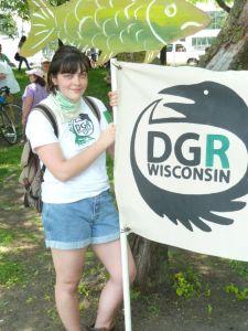 A member of DGR Wisconsin.