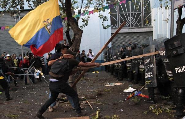 Ecuador riot 1