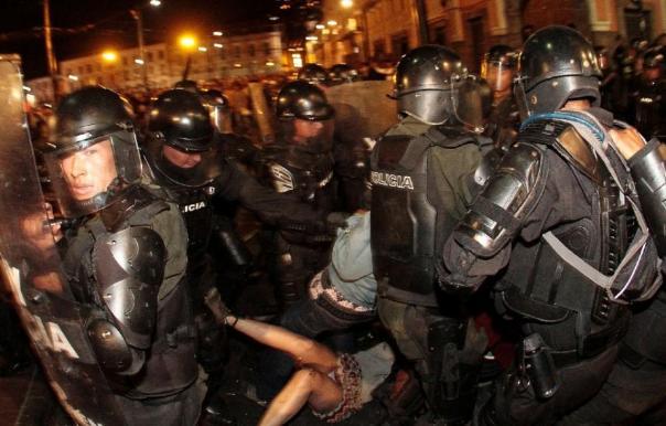 Ecuador riot 2