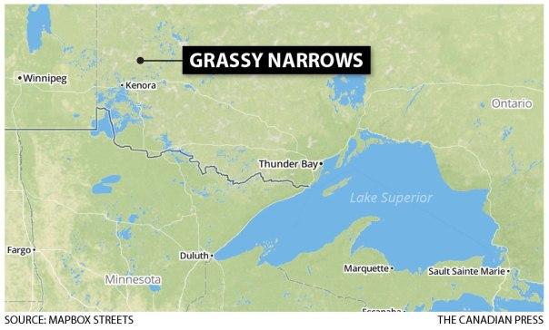 Grassy Narrows map 1