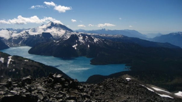 Mount Garibaldi with Howe Sound in the distance. (Kyle Pearce / Flickr)