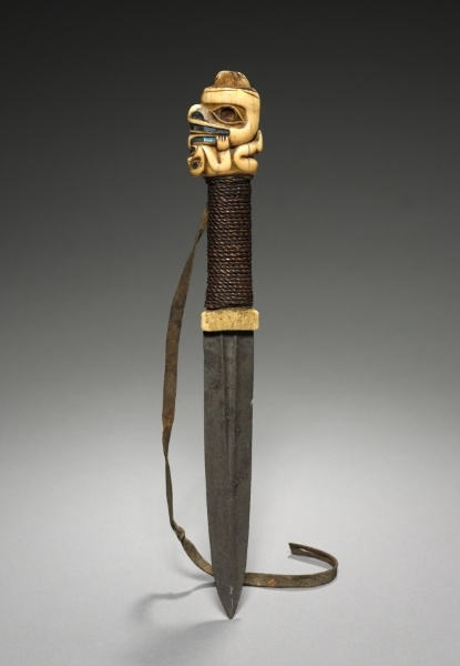 Fighting Knife,Tlingit, 19th century. The Cleveland Museum of Art.