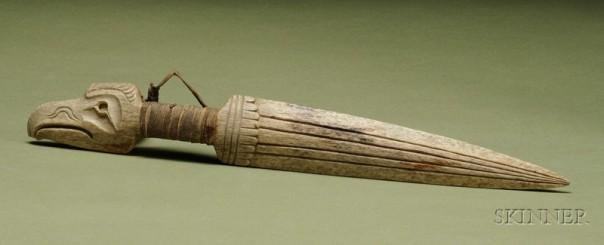 Bone dagger.