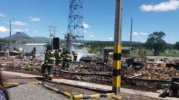 Mapuche hydro arson 1