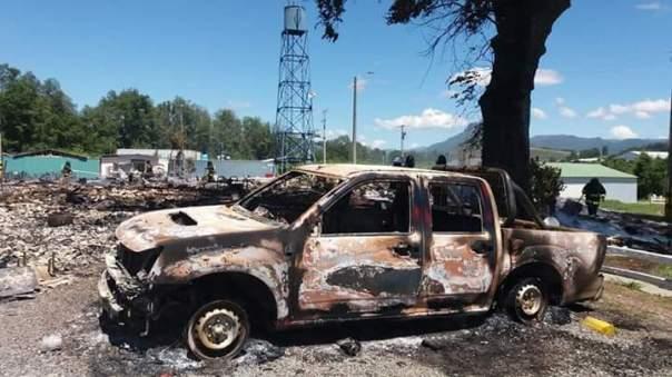 Mapuche hydro arson 2