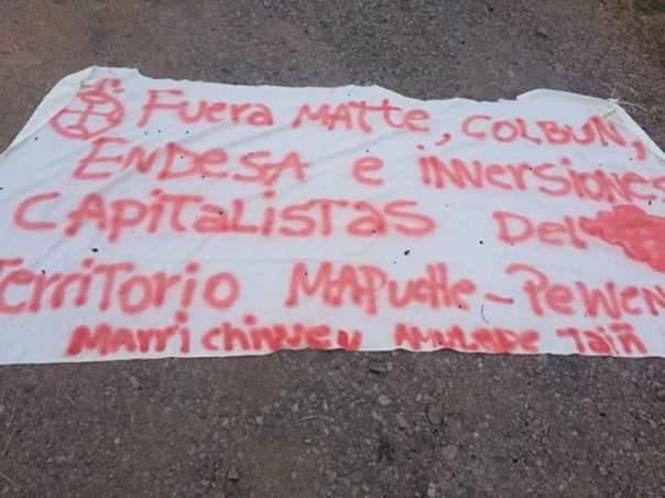 Mapuche hydro arson 3