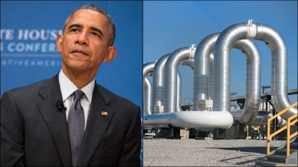 U.S. President Barack Obama has announced the rejection of the proposed Keystone XL pipeline. (Evan Vucci, Nati Harnik/AP)