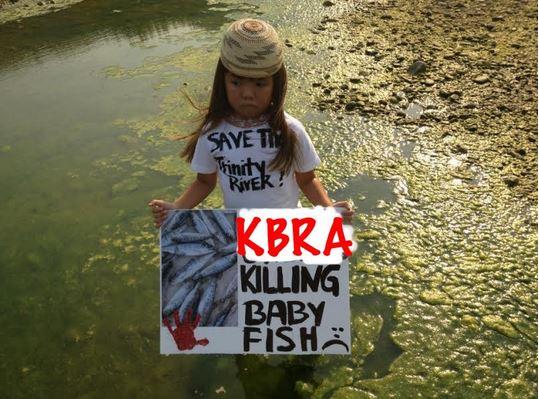 Klamath River protester 1