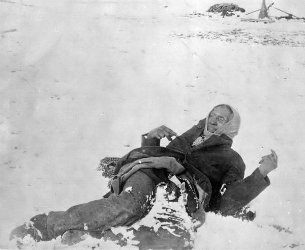 Wounded Knee chief bigfoot