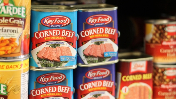 Army Food canned beef
