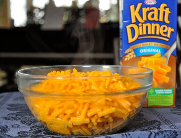 Army Food kraft dinner