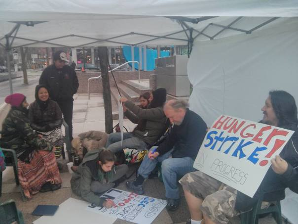 Site C hunger strike 1
