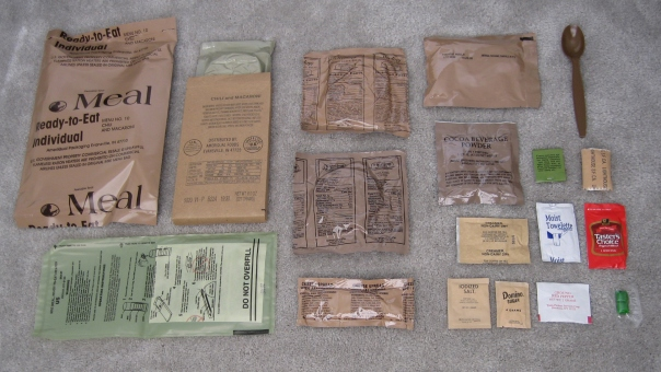US Army MRE contents