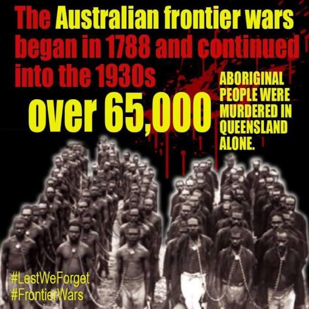 Australia frontier wars 1