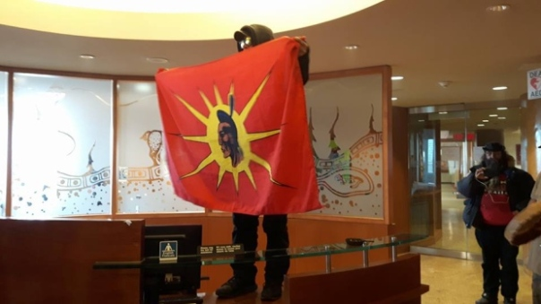 Toronto INAC occupation 1