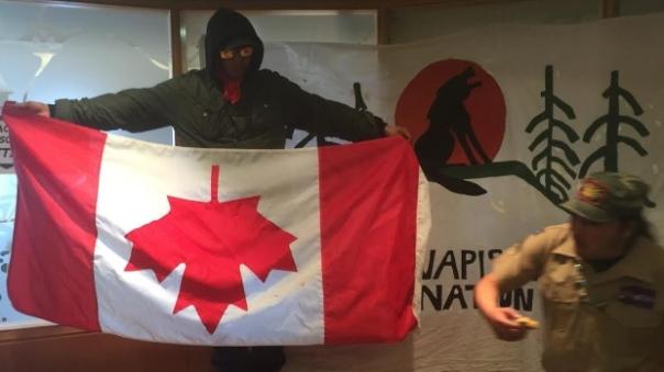 Toronto INAC protest 3