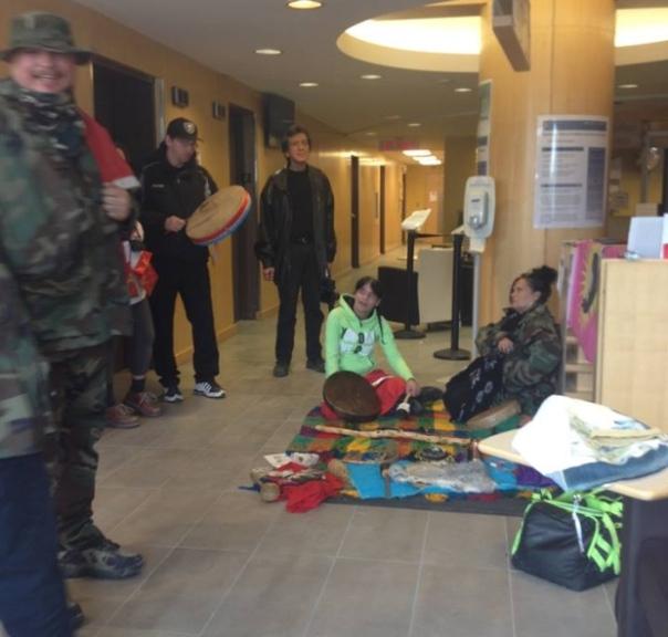 Winnipeg INAC occupation 2