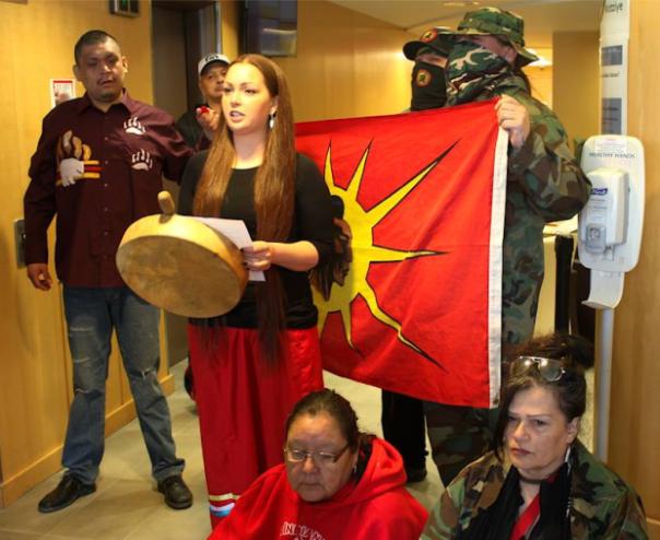 Winnipeg INAC occupation 4