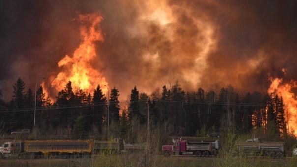 Tar Sands Ft McMurray fire 1
