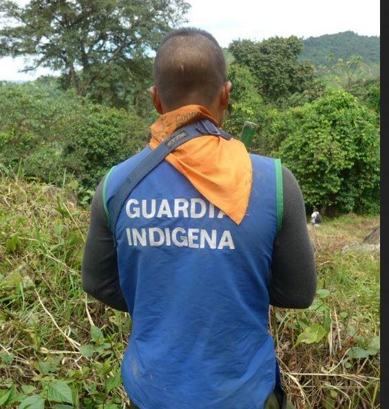 Colombia guarda indigena