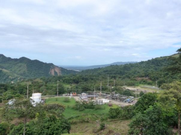 Columbia gas plant