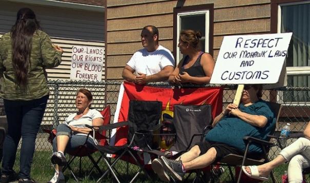 kahnawake-protest
