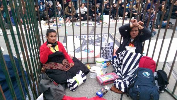 Australia juvenile abuse protest 1