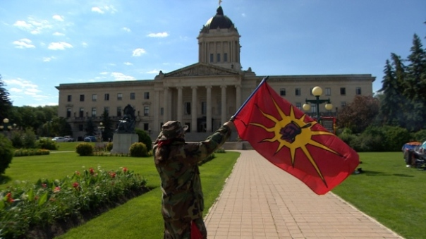 MMIW manitoba legislature-protest