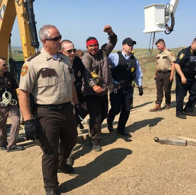 Dakota Access Pipeline american horse 1