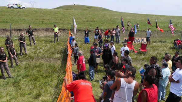 Dakota Access pipeline protests 2