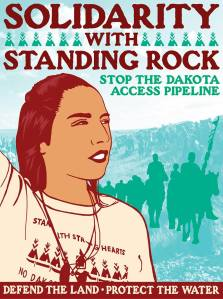 Dakota Access Pipeline solidarity graphic