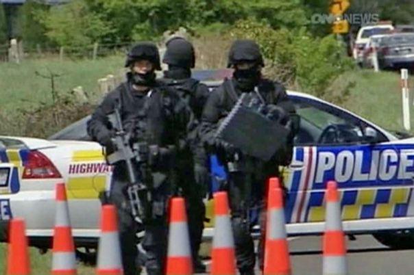 Maori anti terror raid 1