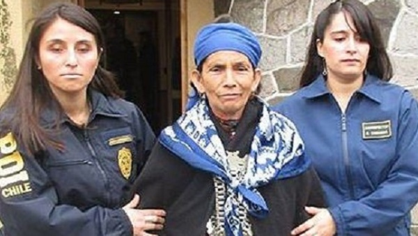 Mapuche elder Machi Linconao