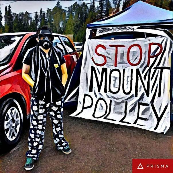 Mount polley prisma banner