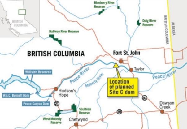 site-c-dam-map