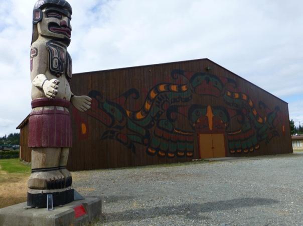 Wei Wai Kum First Nation big house