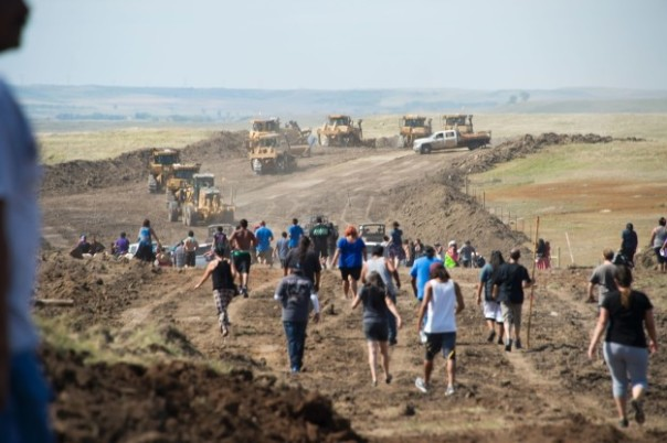 Dakota Access Pipeline disruption