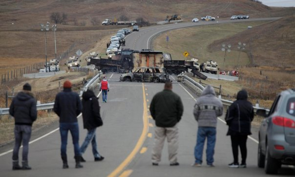 dapl-burned-blockade-trucks