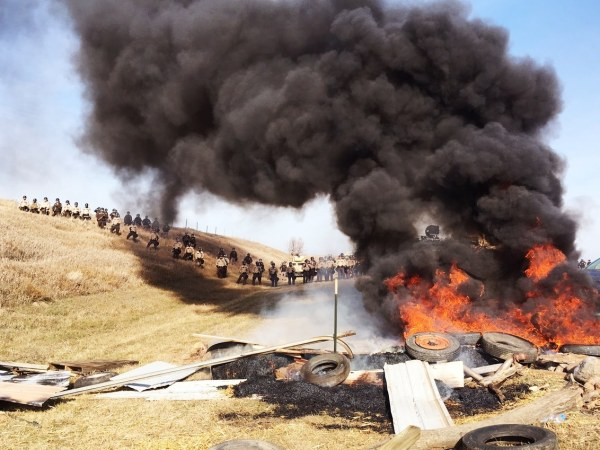 Image result for DAPL burning