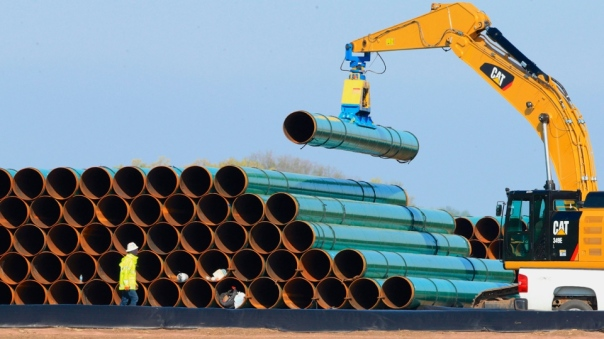 pipes for the dakota access pipeline ready to go in the ground photo ctv news