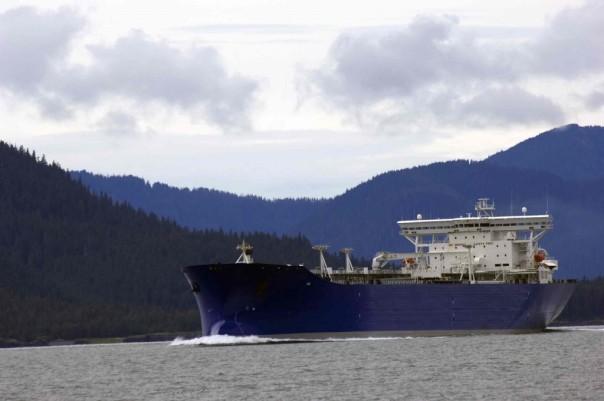 oil tanker bc coast