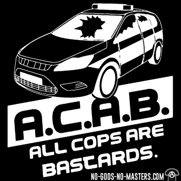 ACAB cop car
