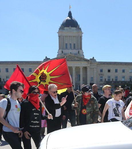 Antifa Winnipeg 2
