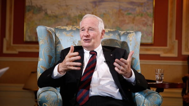 David Johnston GG