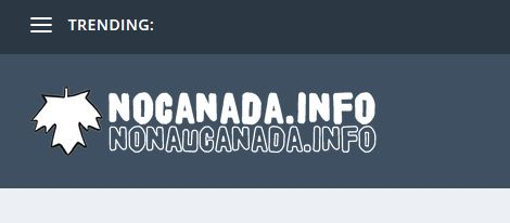 no canada website logo